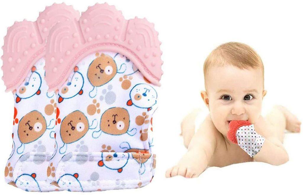 Guantino in silicone per neonati